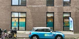 KNAP IJburg buitenkant met auto 3